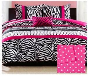 Home Essence Teen Leona Printed Comforter and Sheet Set, Queen