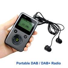 Portable DAB / DAB+ Radio FM Stereo Receiver REC Recoder TF Card MP3 Player