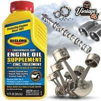 Classic & Vintage Car Zinc Engine Oil Supplement Booster High Mileage Treatment