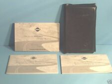 00 2000 Nissan Altima owners manual