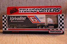 1992 #6 Mark Martin Valvoline 1:87 scale team transporter
