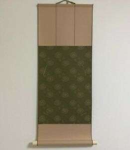 """The frame to display """"Shikishi"""" paper Hanging scroll type Luxury Green"""