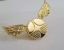 Harry Potter Inspired 'Golden Snitch' Hard Enamel Gold-Plated Pin Badge