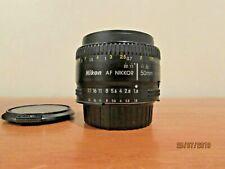 Nikon AF NIKKOR 50mm f/1.8D Lens - Black- F Mount
