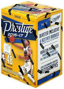 Panini Prestige 2016/17 - 8 Pack Blaster Box NBA Basketball (4 Acetate Rookies)
