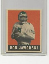 1997 Ron Jaworski Donruss Leaf Reproduction Card Serially #701/1948