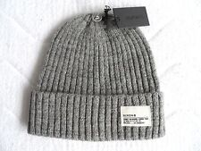 NIXON of CANADA WOOL WATCH CAP Heather Grey Rib BEANIE Toque New Tags MENS Hat