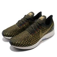Nike Air Zoom Pegasus 35 Black Olive Flak Men Running Shoes Sneakers 942851-011