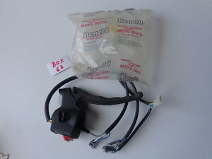 Benelli, MOTO GUZZI HORN AND LIGHT CONTROL WITH HANDLE (BOX 63)