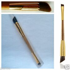 TARTE Bamboo Frame Worker Double-Ended Brow Powder Brush Eye Liner Concealer UK