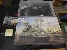 MENG TS-023 1/35 RUSSIAN ZSU-23-4 SHILKA SELF PROPELLED AA GUN PLASTIC MODEL KIT