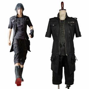 Final Fantasy XV FF15 Noctis Lucis Caelum Noct Cosplay Costume Suit Jacket Shirt