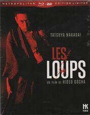 LES LOUPS : HIDEO GOSHA , YAKUZA ... BLURAY + DVD + LIVRET ... EDITION COLLECTOR