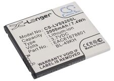 3.7V battery for LG Optimus LTE, EAC61678801, Nitro HD, BL-49KH, Spectrum, VS920