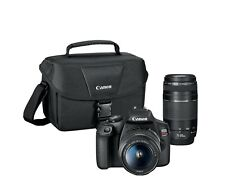 Canon-EOS Rebel T7 DSLR Video Two Lens Kit with EF-S 18-55mm and EF 75-300 mm