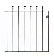 Wrought Iron Metal Small Ball Top Garden Gate 3ft(915mm) x 3ft(915mm) SS1
