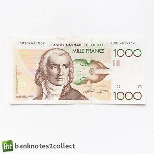 BELGIUM: 1 x 1,000 Belgian Franc Banknote.