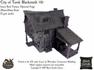 City of Tarok Blacksmith Forge (A) 28mm/32mm medieval fantasy building