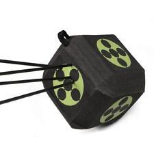 6-Sided 3D Cube Reusable Archery Target Rapid Self Healing Foam Broadheads Bows