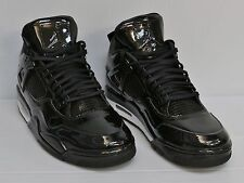 Nike Air Jordan 11Lab4 Patent Leather Black White 719864-010 Size 10.5