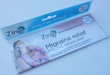 ZING Pain Relief : Gold Plated Magnets & Plasters : MIGRAINE RELIEF : Free p/p