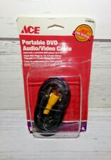 New Ace Portable Dvd Audio Video 6' Cable