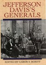 Jefferson Davis's Generals (1999, Hardcover)