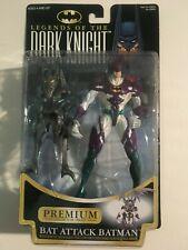 1997 Legends of The Dark Knight Bat Attack Batman Action Figure Kenner Premium