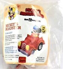 NEW McDonald's 1988 DISNEY MICKEY'S ROADSTER HAPPY MEAL TOY