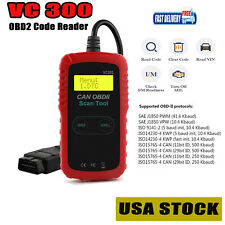 OBD2 EOBD Code Reader Automative Check Engine Light Fault Diagnostic Scan Tool
