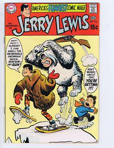 Adventures of Jerry Lewis #116 DC 1970