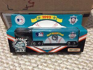 "NEW MLB ""FLORIDA MARLINS"" INAUGURALYEAR 1993 LIMITED EDITION MATCHBOX TRUCK"