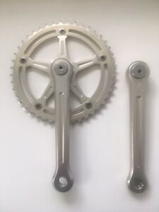 Rare Campagnolo BMX crankset 175mm Arms, 44 Tooth Chainring.