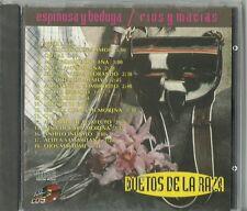 Duetos De La Raza Espinosa Y Bedoya Rios Y Macias  Latin Music CD New