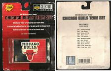 "Super Rare Chicago Bulls Team Set 1997-98 Collector's Choice Basket Cards New â–"""
