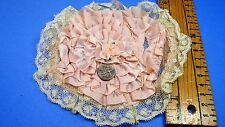 VINTAGE SILK & LACE DECO- ARTS- CRAFTS-SEWING-DECORATING-HATS AND LAMP SHADES