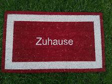 45x75cm Rot Zuhause Fußmatte KoKos Fußabtreter Schmutzfangmatte Kokosmatte