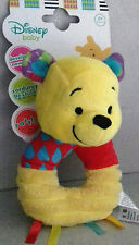 Posh Paws Anillo De Peluche Disney Winnie The Pooh Sonajero la edad de 0+ MESES. Regalo De Calidad