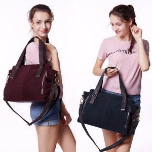 Women's Bags Handbag Boston Split Suede Leather Authentic Vintage Satchel Purse