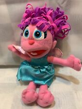 "ABBY Cadabby Sesame Street 40th Fisher Price Fairy 9"" Plush Stuffed Animal Toy"