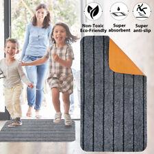 """Indoor Outdoor Floor Mats for Entryway 17x30"""" Entrance Doormat Non-Slip Rug Mat"""