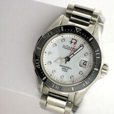Roamer Rockshell Mark III 220633 Automatic SS Link Band Date Swiss Watch