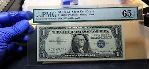 Fr.1620* $1 1957 A STAR Silver Certificate PMG GEM 65 EPQ