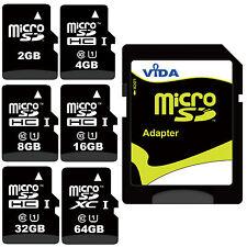 High Speed 4GB 8GB 16GB Micro SD SDHC Memory Card For fit to GARMIN Sat Nav GPS