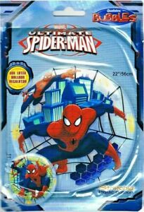 """Qualatex Bubble Balloon 22"""" (56cm) Marvel Spider-man Double Sided"""