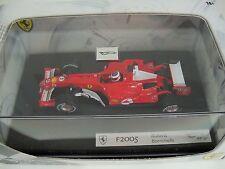 Hot Wheels 1:43 F2005 Rubens Barrichello Ferrari F1 MIB