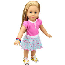 18 inch American Girl Doll Toy Doll Clothes Dress Accessories Beautiful Dot Gift