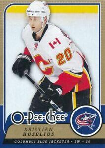 2008-09 O-Pee-Chee #295 KRISTIAN HUSELIUS - Calgary Flames