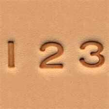 """Craftool Easy-To-Do Stamp Set Numbers 0.6 cm (1/4"""") Tandy Leather Item 4904-00"""