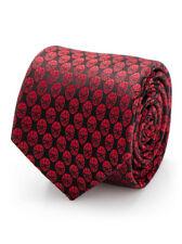 Amazing Spider-Man Men's Tie 100% Silk Marvel Comics Disney Red Brand New In Box